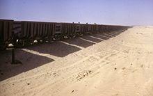 Le train du désert mauritanien