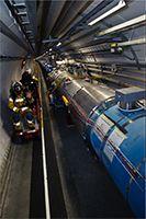 Le CERN à Genève.