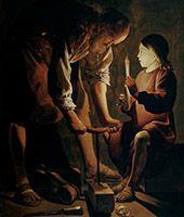 Apprendre à lire un tableau : Georges de la Tour, de la lumière et du silence.