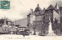 Musée de Grenoble «Servir les Dieux d'Egypte» et château de Vizille
