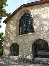 Le couvent des Carmes à Beauvoir en Royans et jardin zen d'Erik Borja